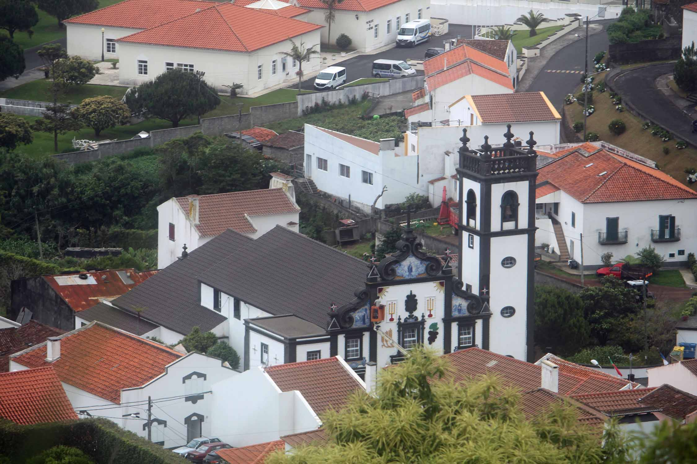 The church of Santo Antonio, São Miguel island, Azores