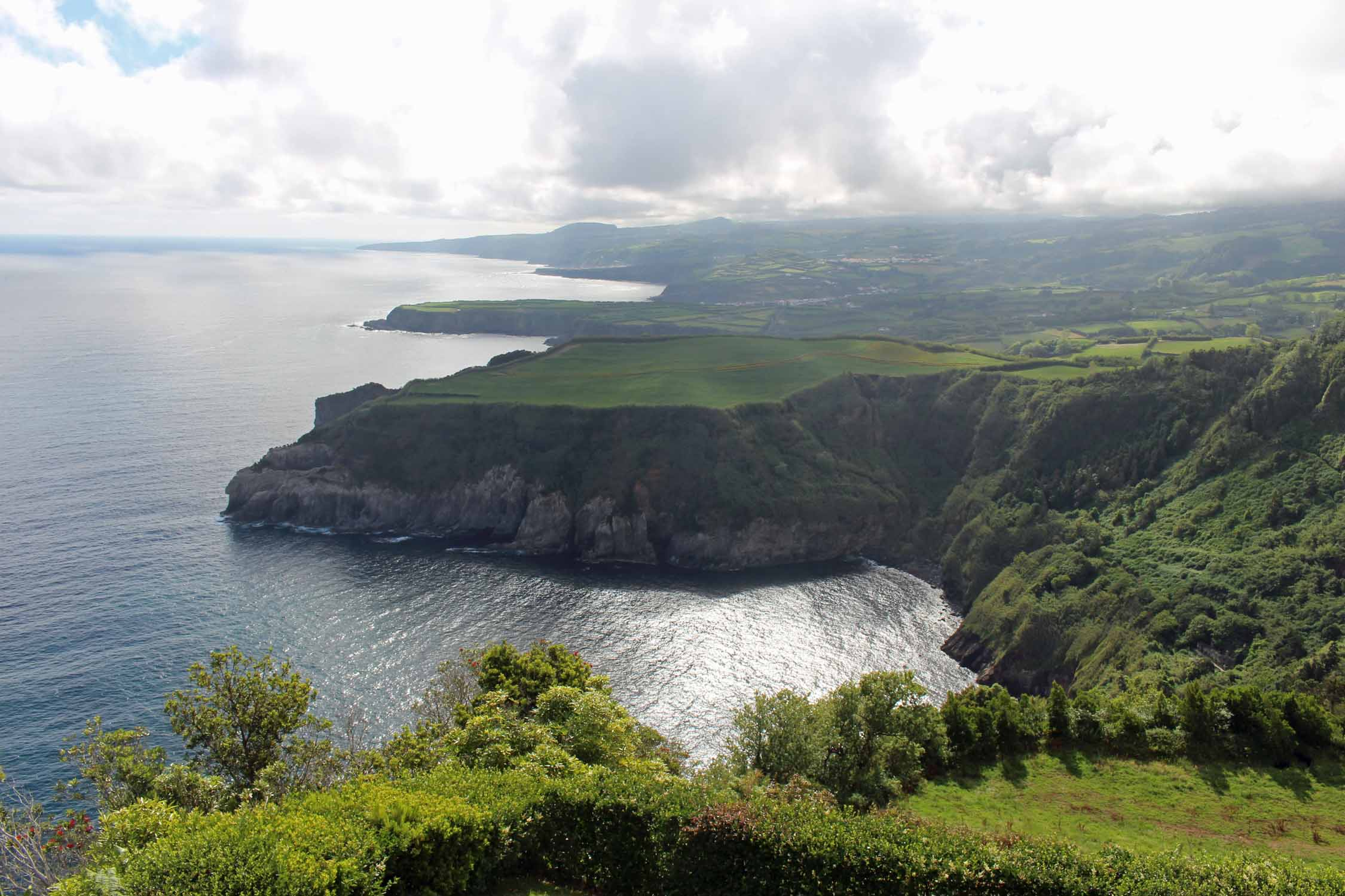 Beautiful landscape of the north coast, São Miguel island, Azores