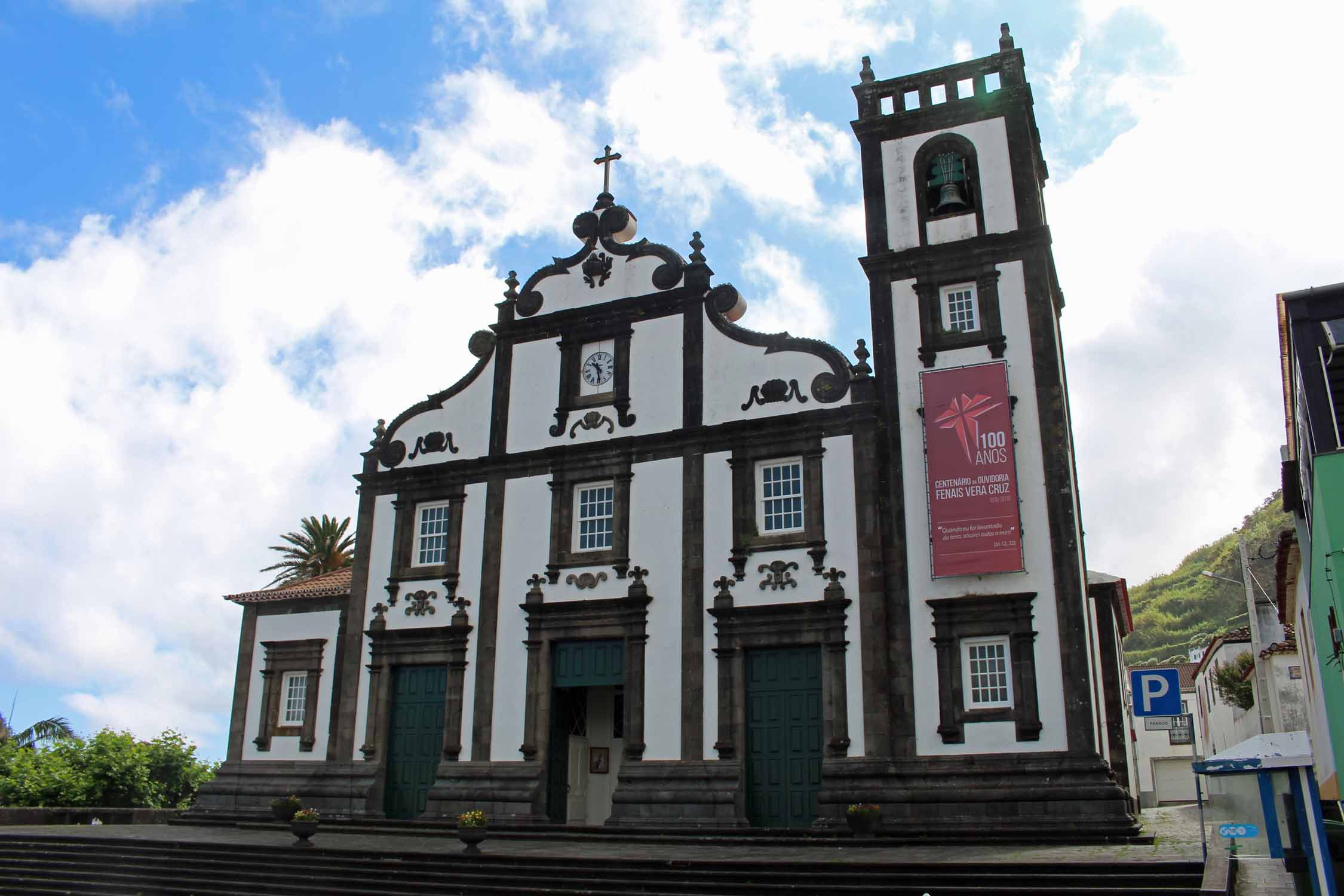 The church of Maia in São Miguel island, Azores