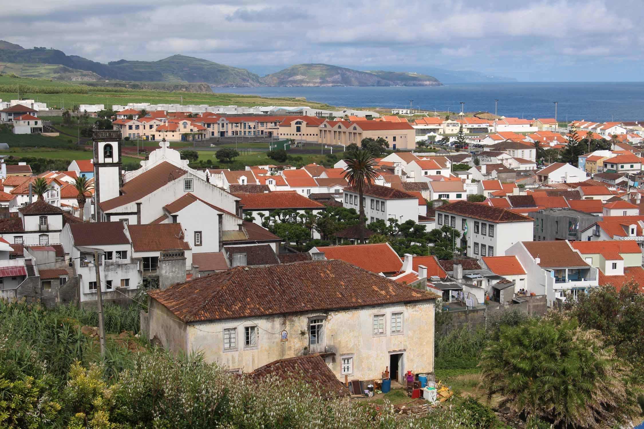 The village of Maia in São Miguel island, Azores