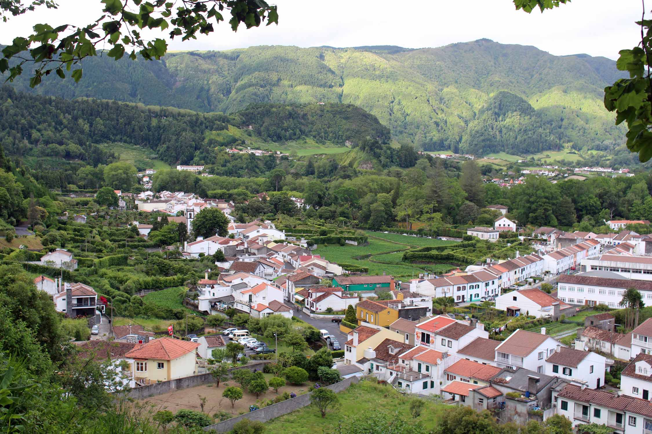 A beautiful landscape in Furnas, São Miguel island, Azores