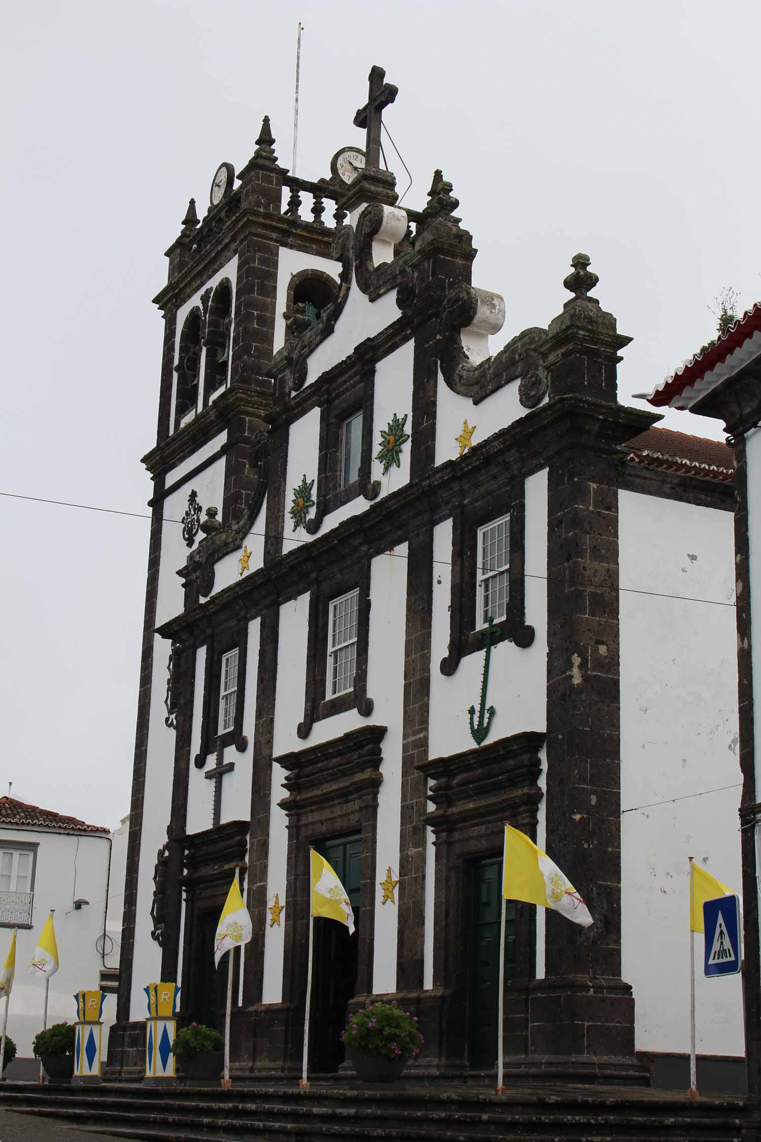 Azores, São Miguel, Lagoa, church Our Lady of Rosary