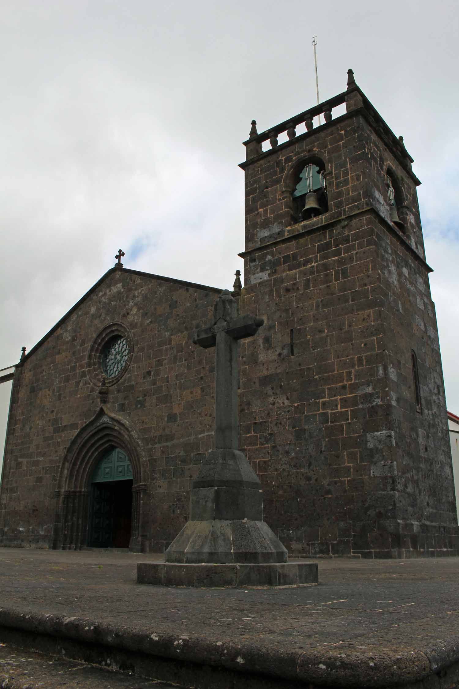 The Saint Michael Archangel in Vila Franca do Campo, São Miguel island, Azores