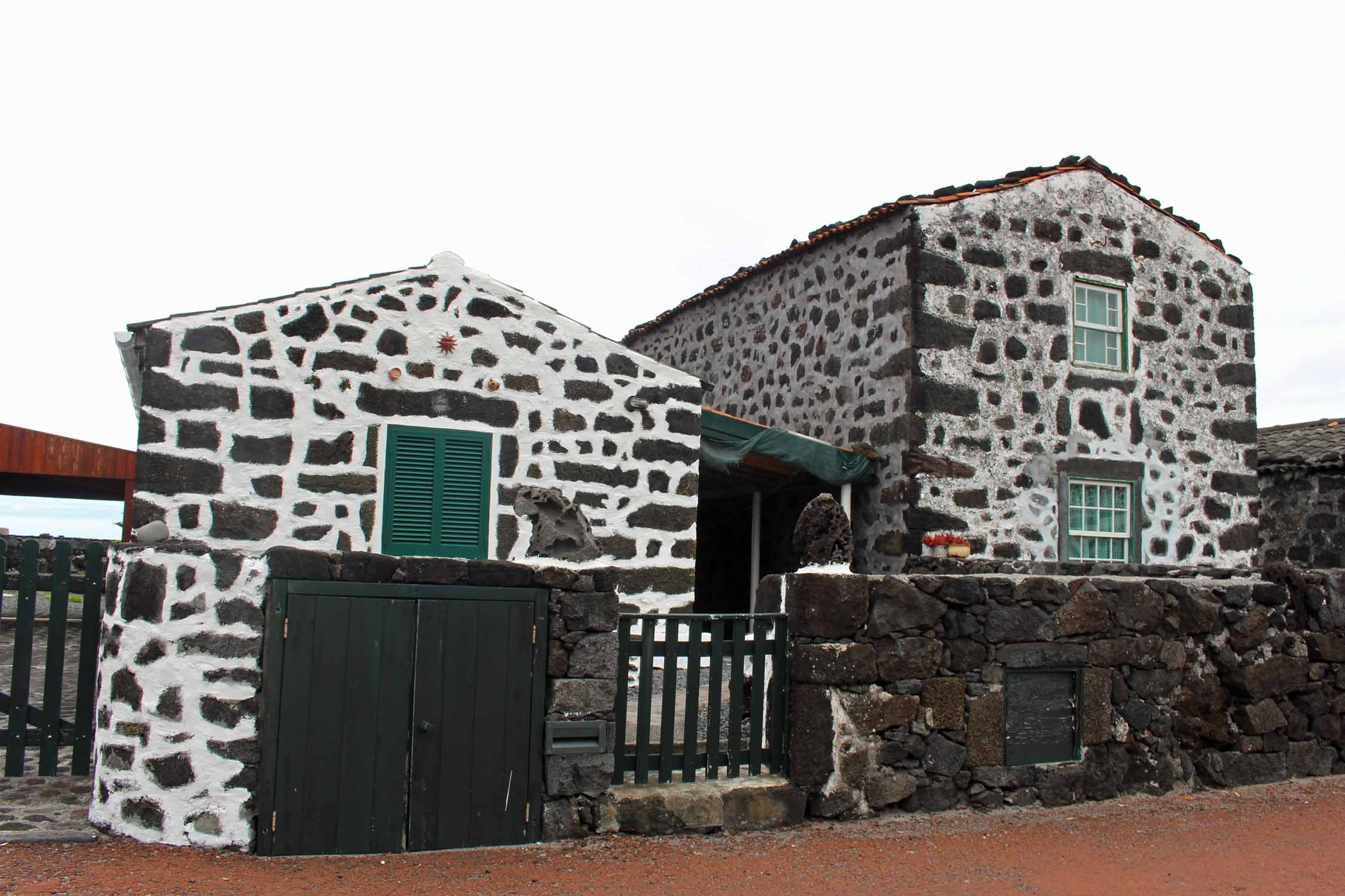 Azores, Pico Island, Lajido, typical house