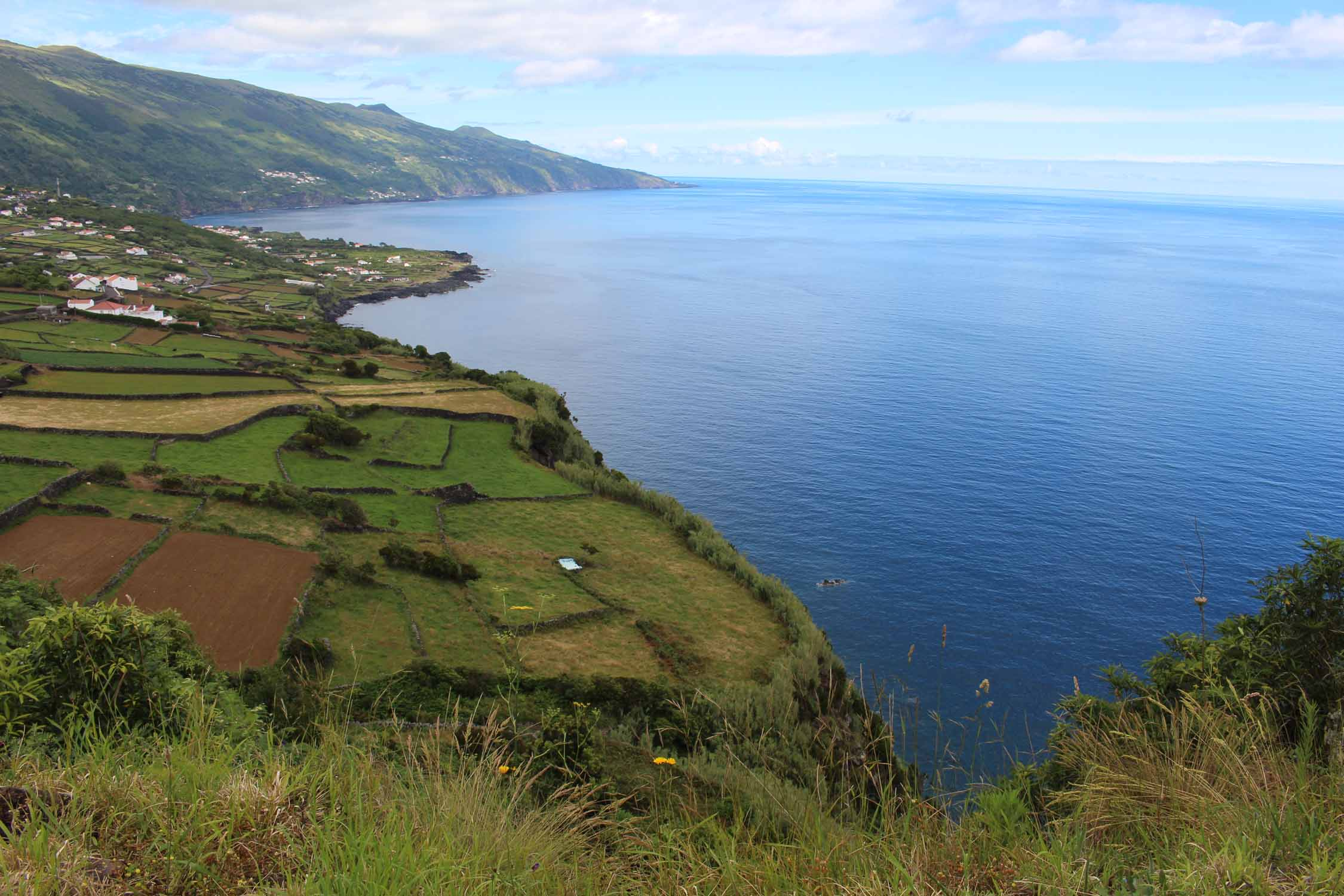 Beautiful landscape in the south coast of Pico Island, Azores