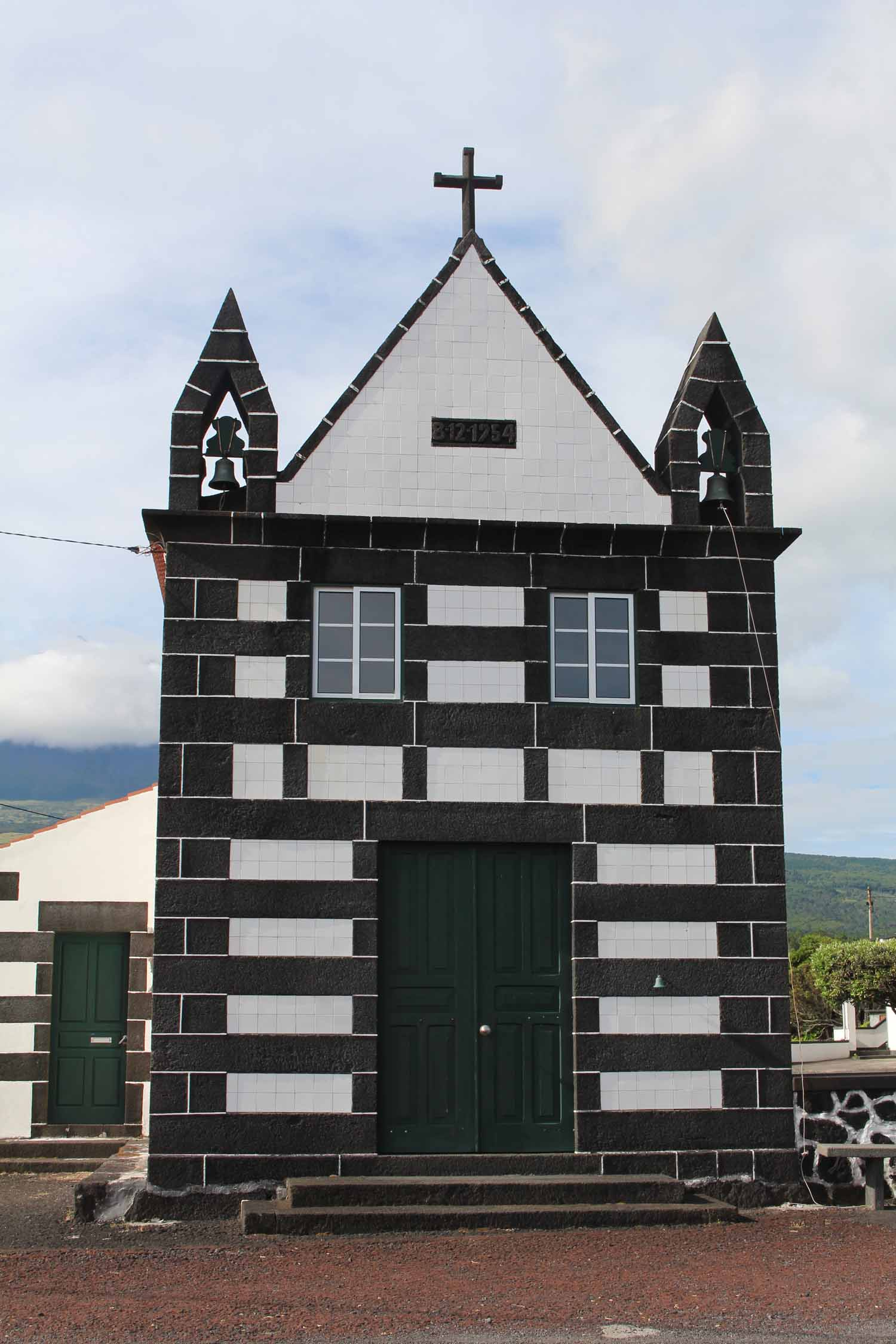 The church of Arcos in Pico Island, Azores