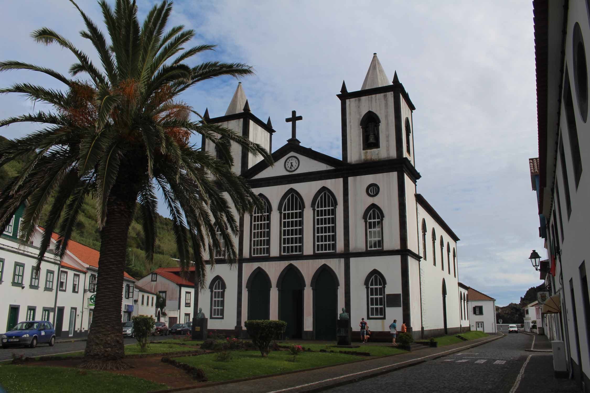A church in Lajes do Pico, Pico Island, Azores