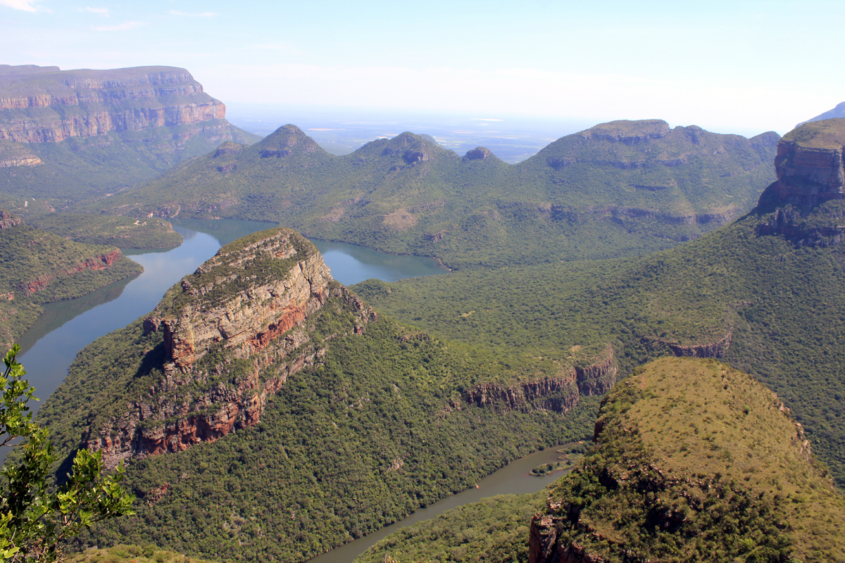 Blyde River Canyon, vue