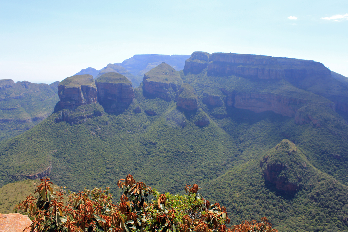 Blyde River Canyon, Trois Rondavels