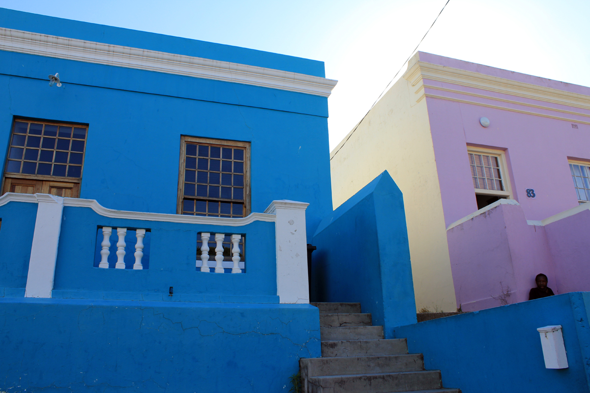 Cape Town, blue house