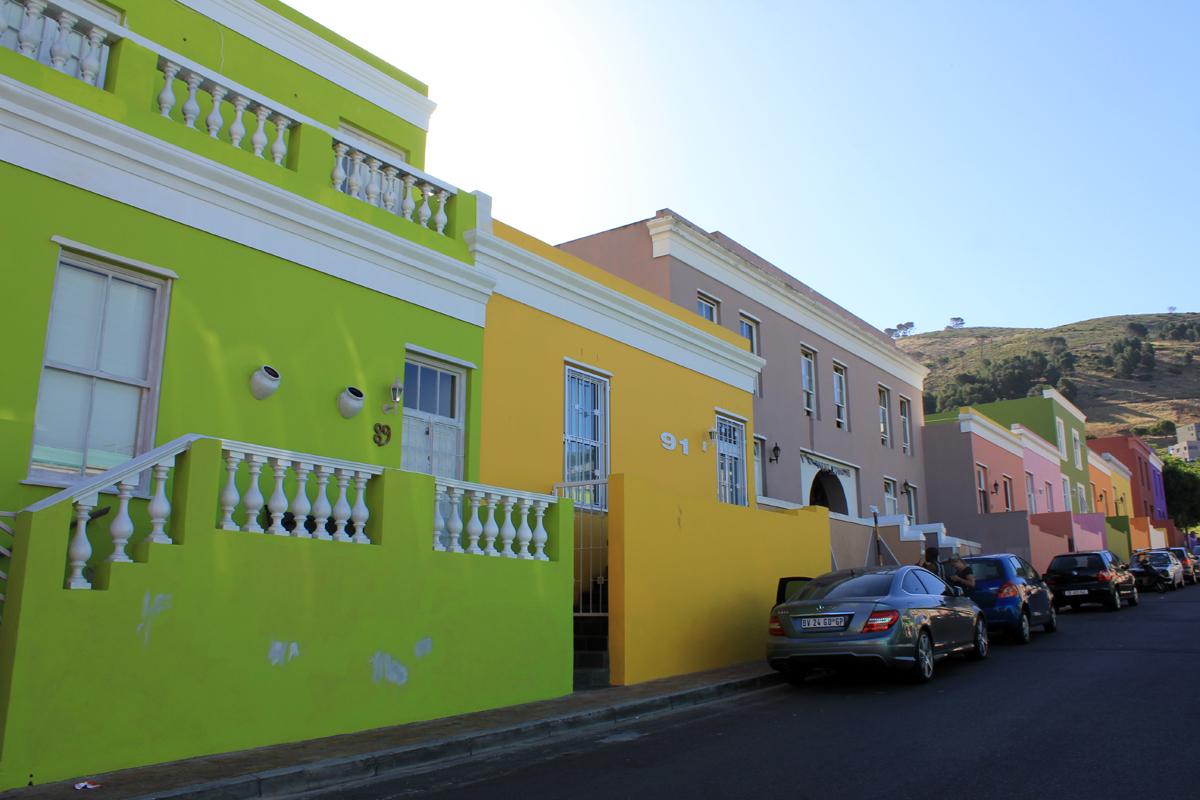 Le cap quartier malais maisons color es for Les maisons du sud