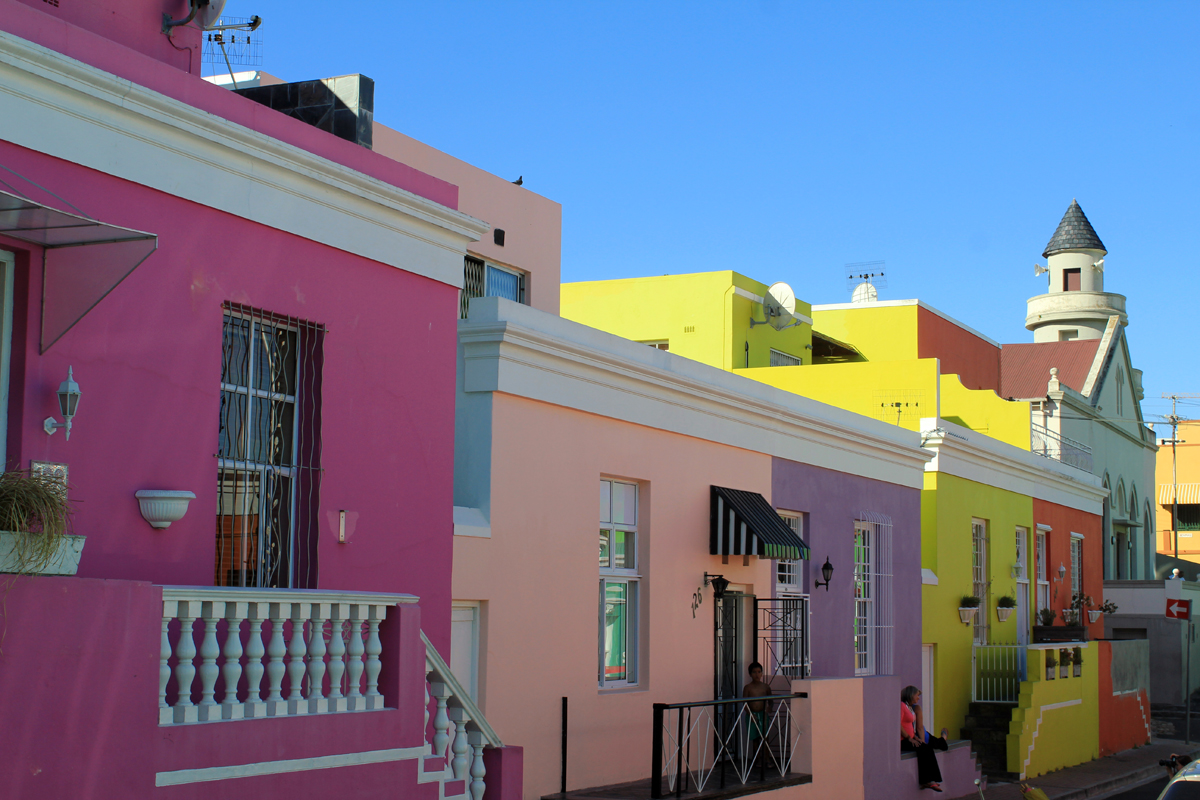 Cape Town, malay quarter, coloured street