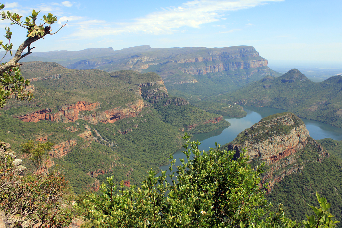 Blyde River Canyon, paysage