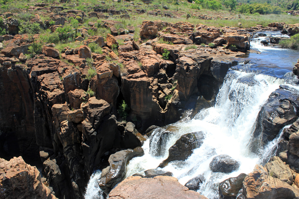 Bourke's Luck Potholes, cascada