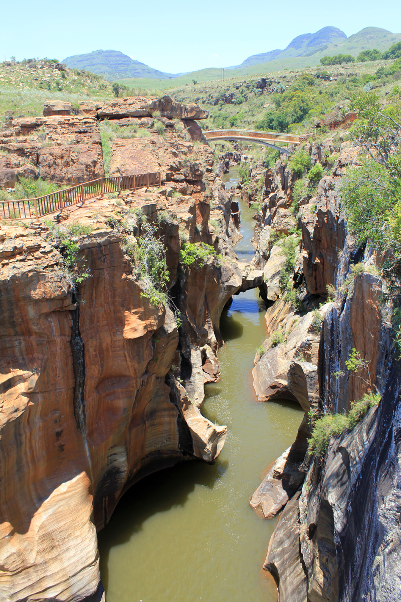 Bourke's Luck Potholes, gorge