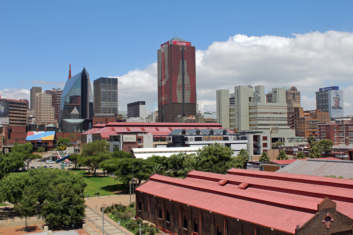Johannesburg, downtown, tower