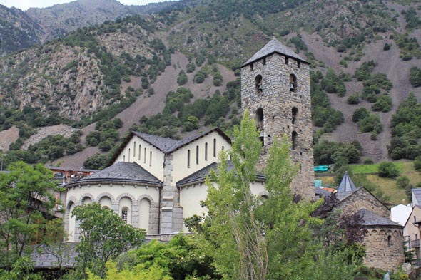 The church of Sant Esteve, Andorra