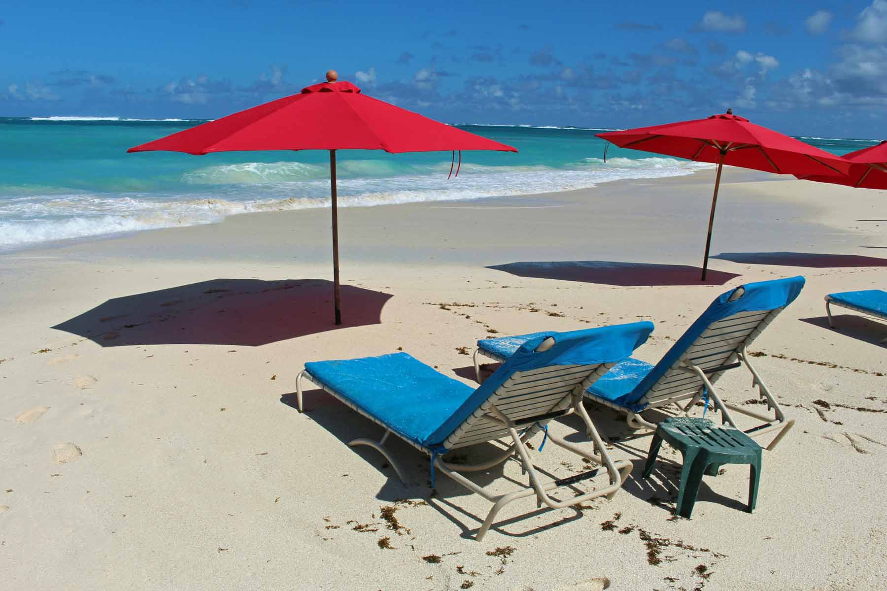 Anguilla island, the beach of Shoal Bay.