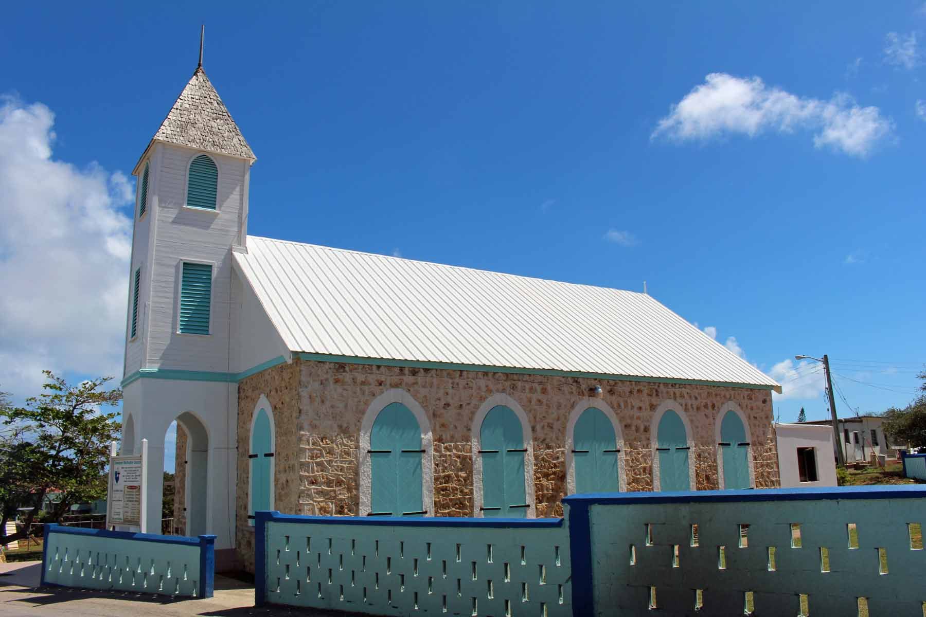 Anguilla island, The Valley, church