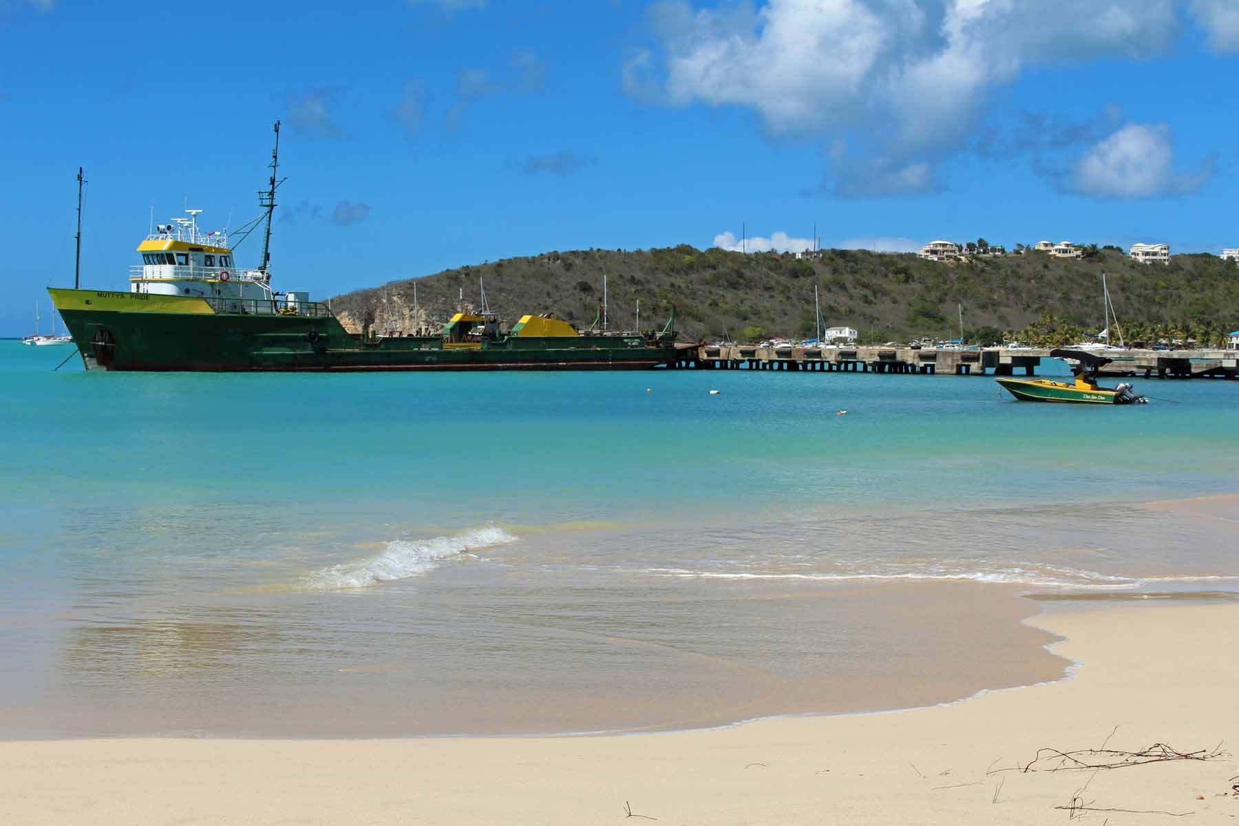 Isla de Anguilla, Sandy Ground, puerto