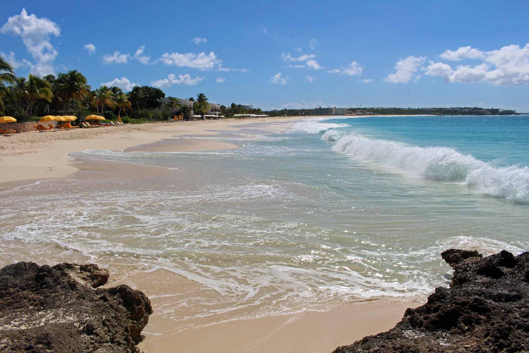 Meads Bay in Anguilla island