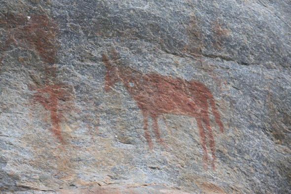 Rock paintings, Tsodilo Hills
