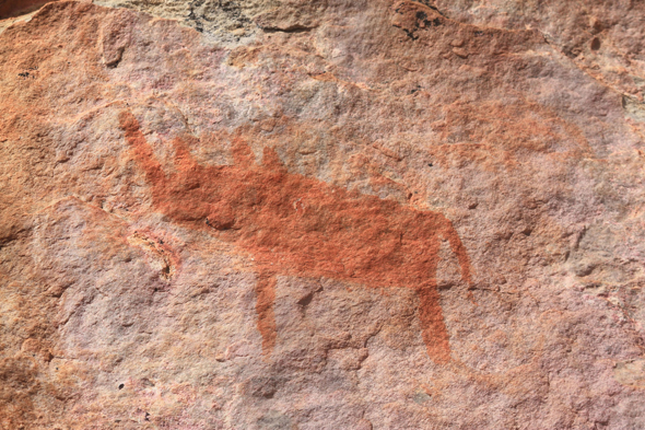 Botswana, Rock paintings, Tsodilo Hills