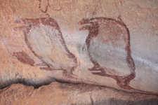 Rock paintings