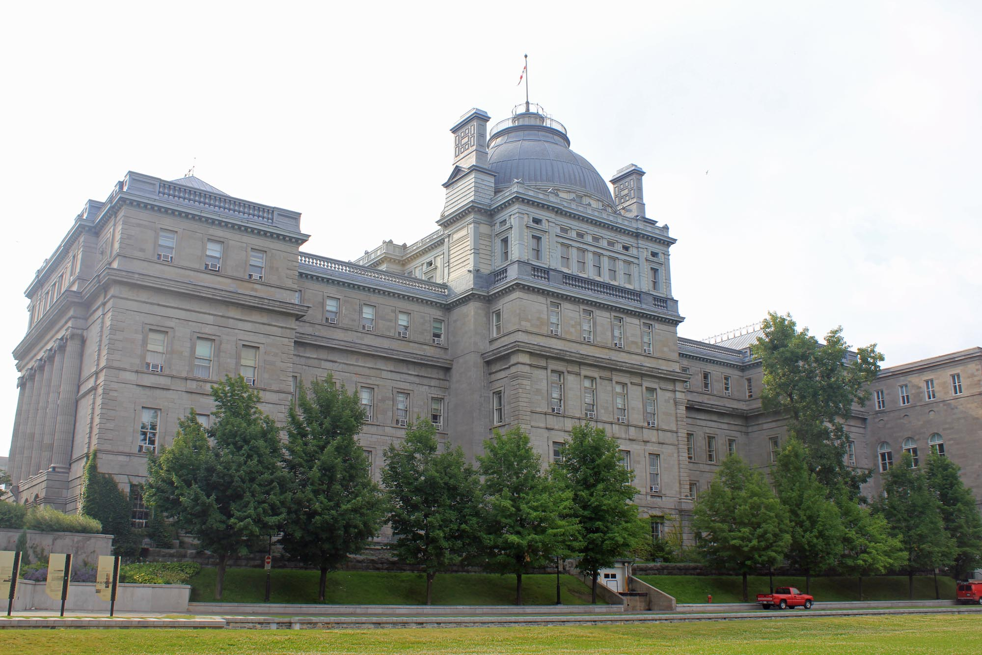 Montreal, old justice Palace