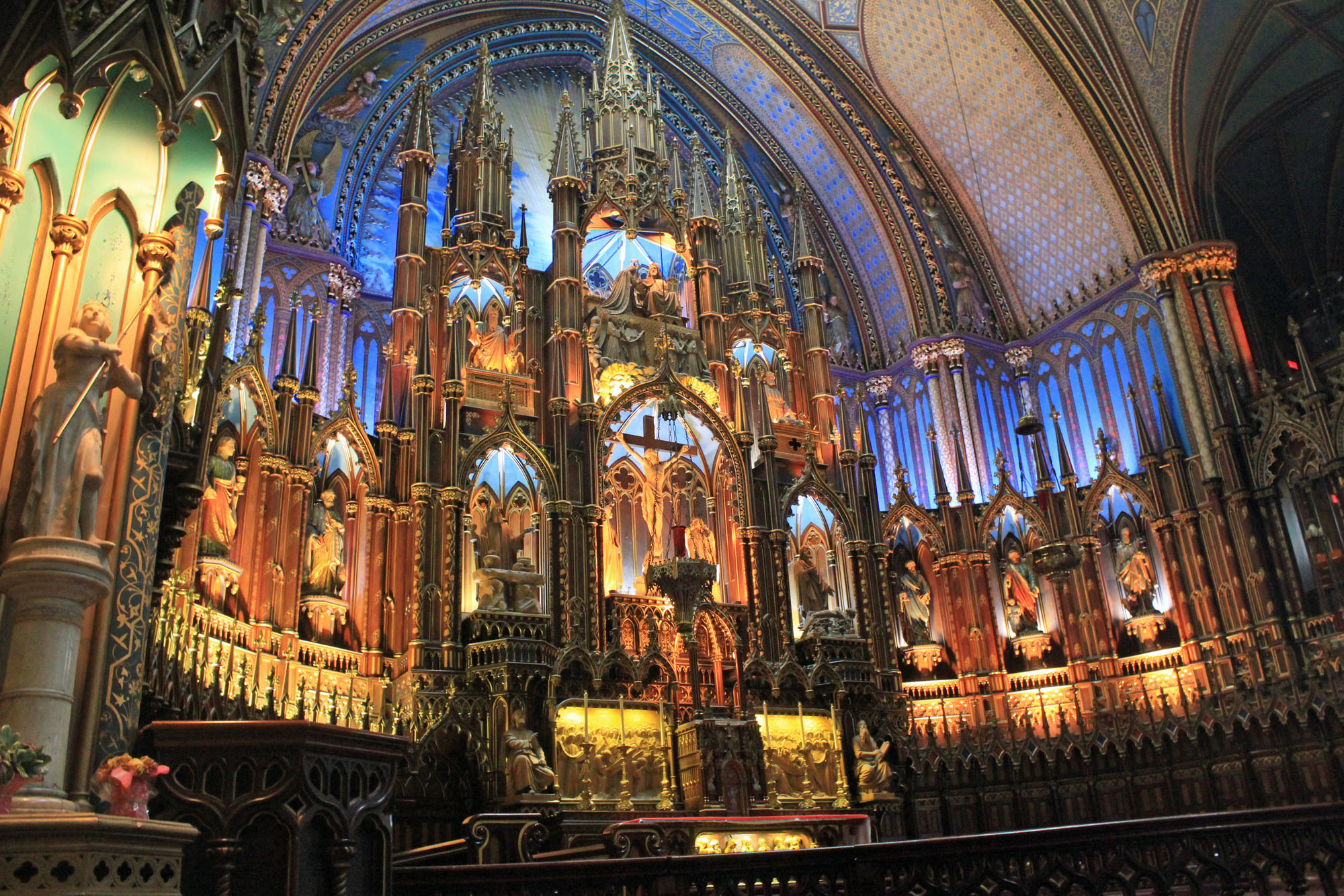 Montreal, catedral, interior