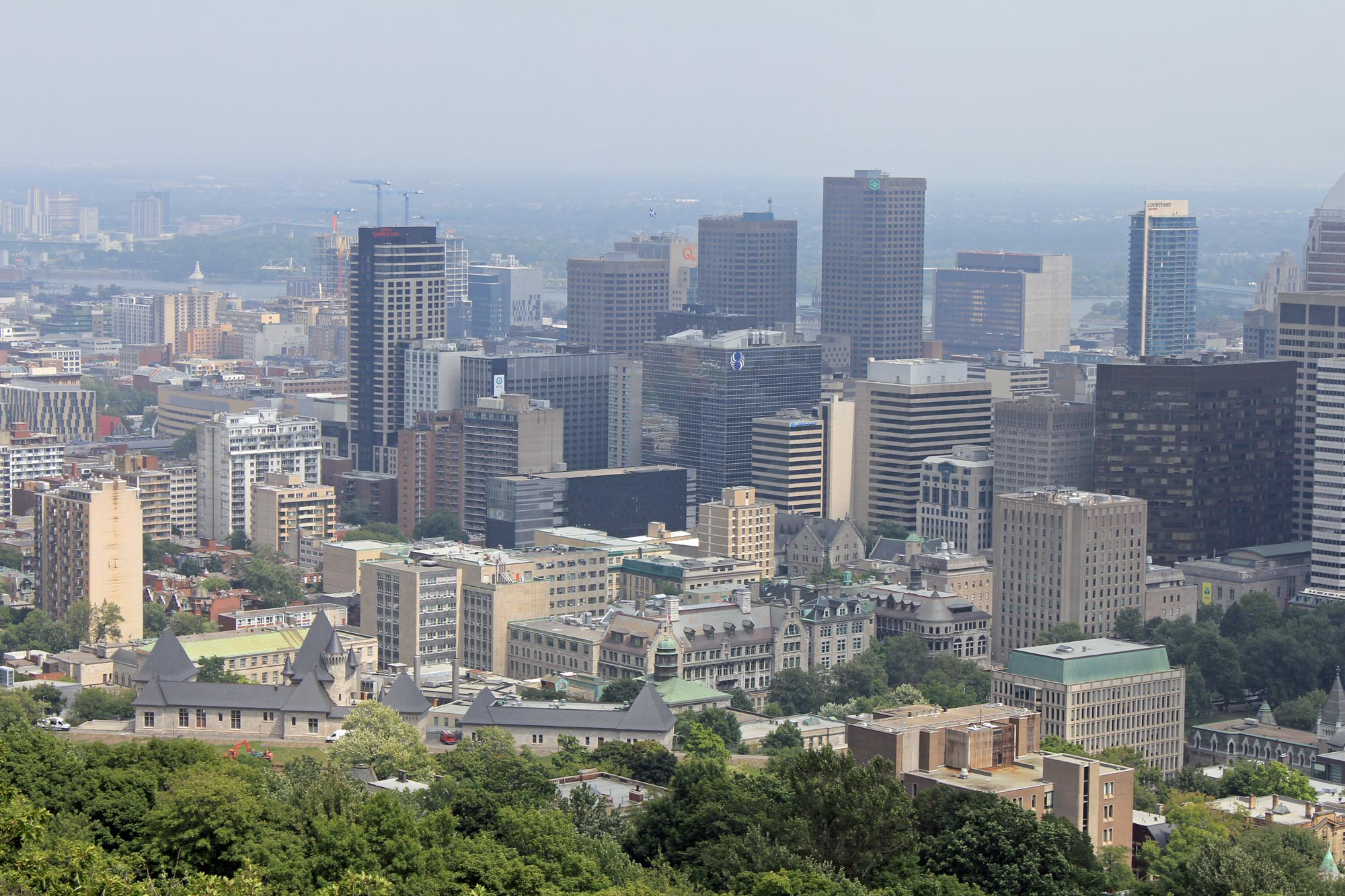 Montreal, Quebec, view