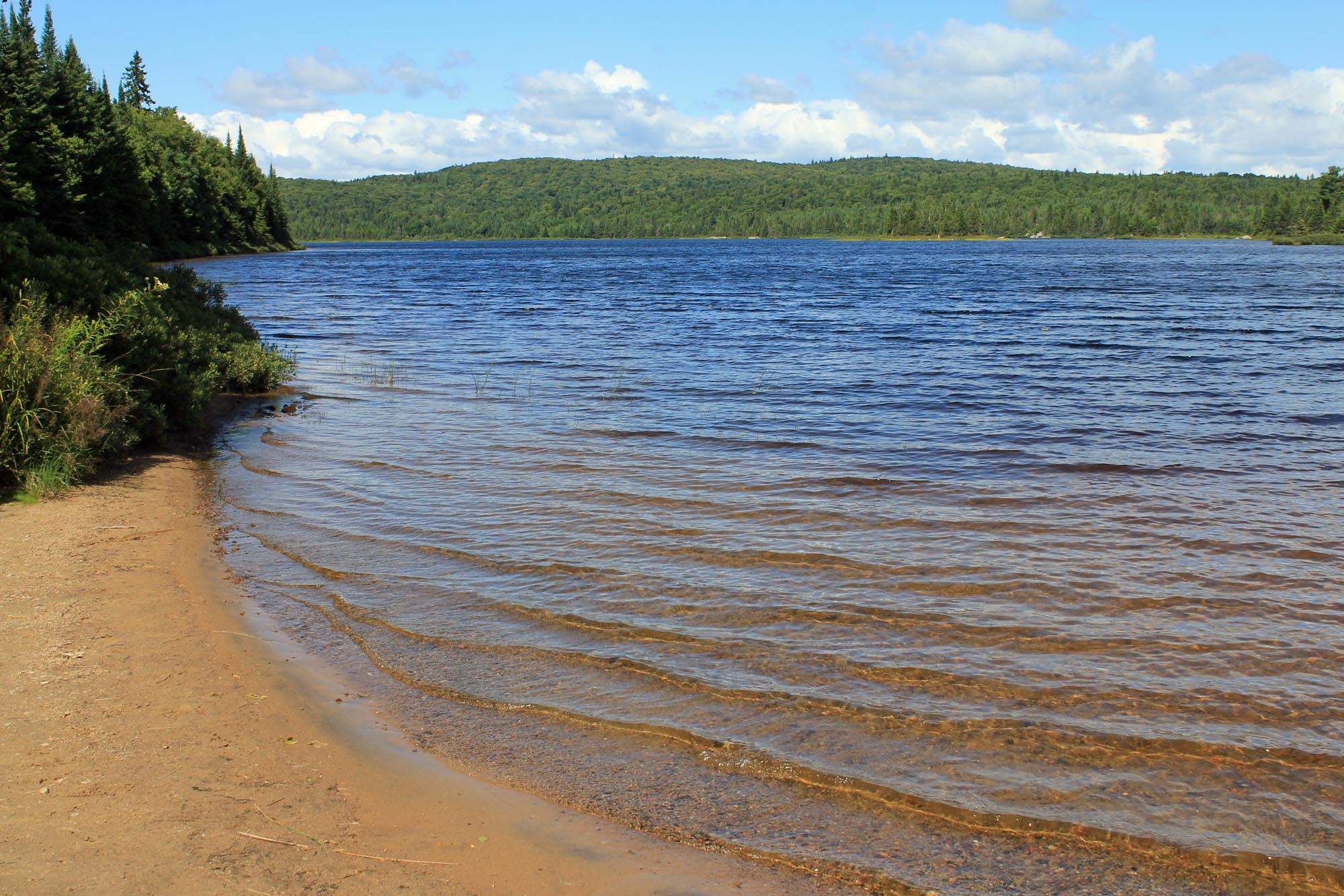 Lake Savane, Mont-Tremblant, view