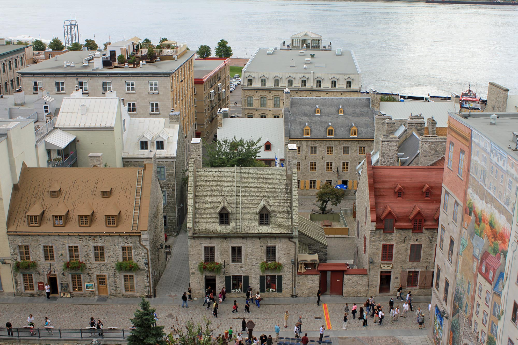 Old city of Quebec