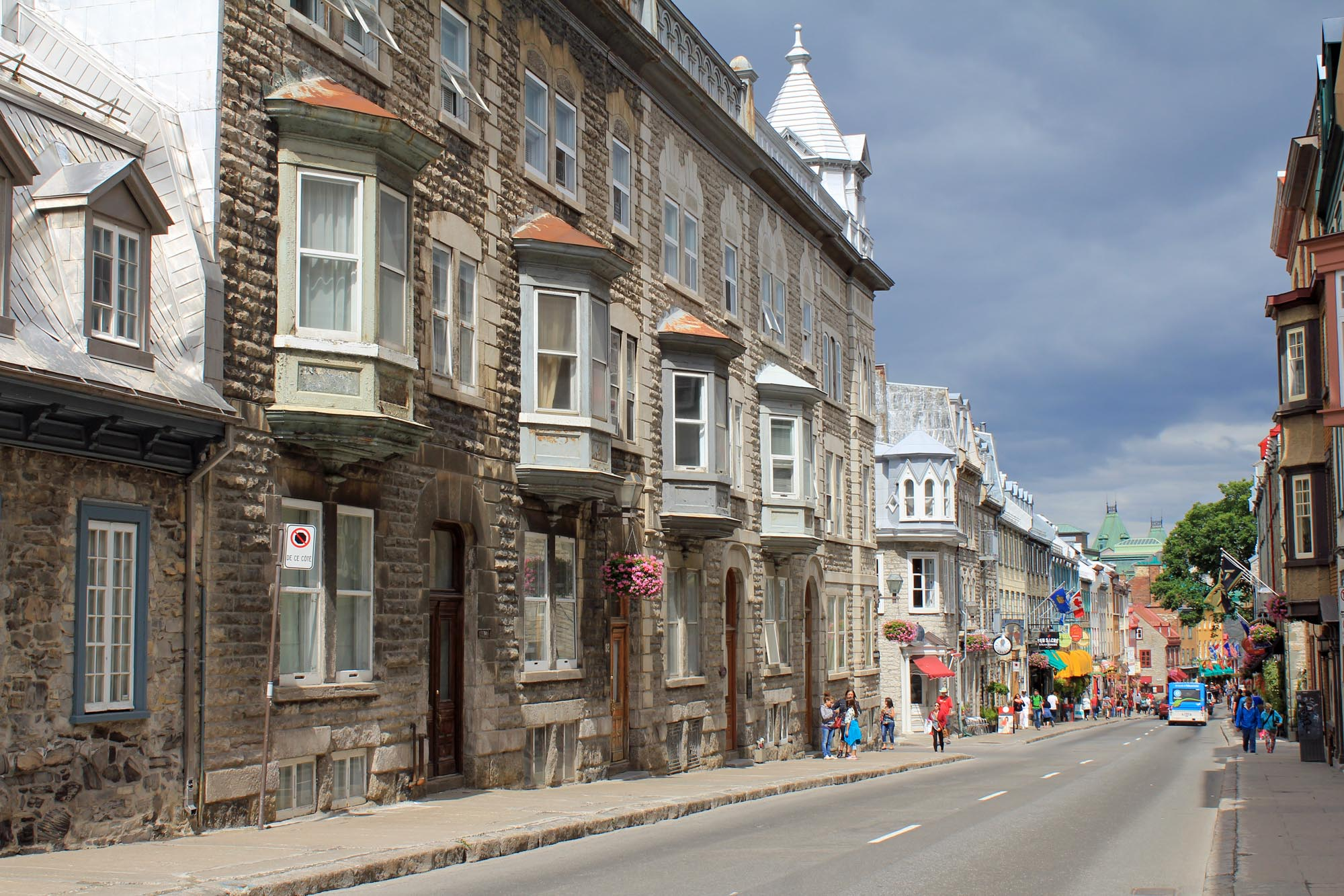 Quebec City, Street Saint-Louis