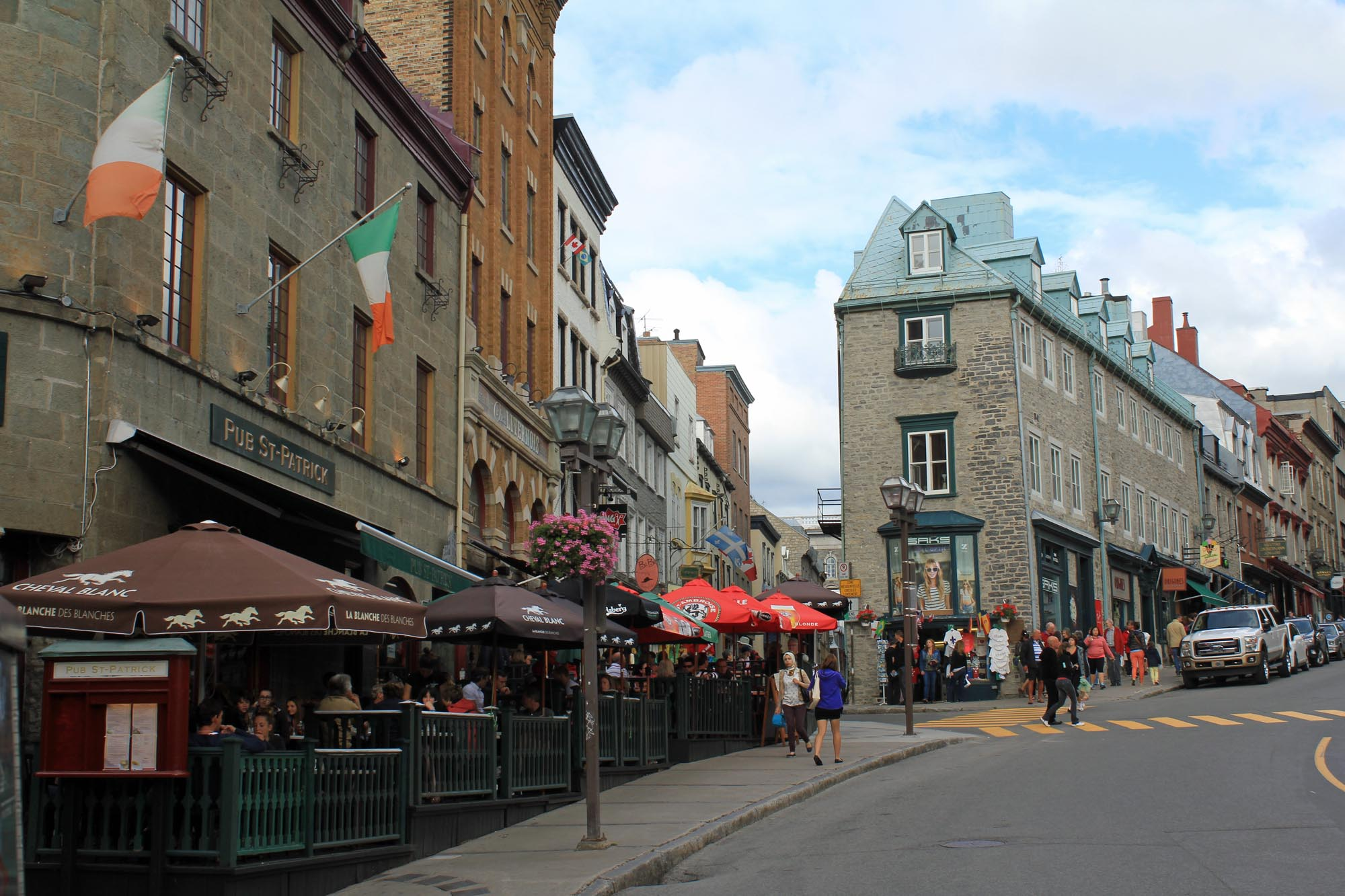 Quebec City, Côte de la Fabrique