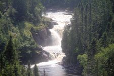 Maligne falls