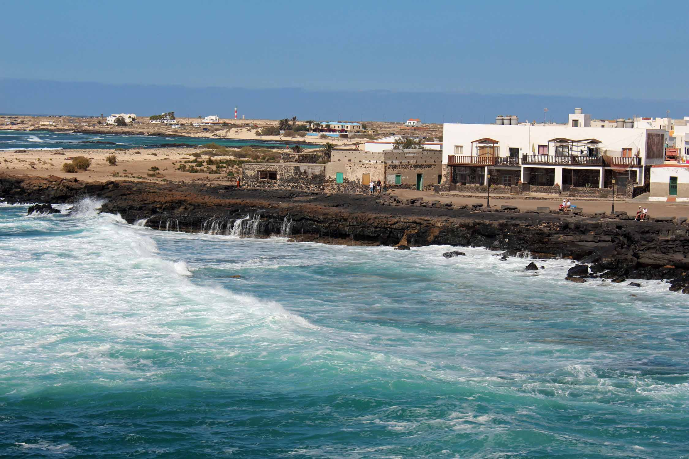 Fuerteventura, El Cotillo, beautiful village