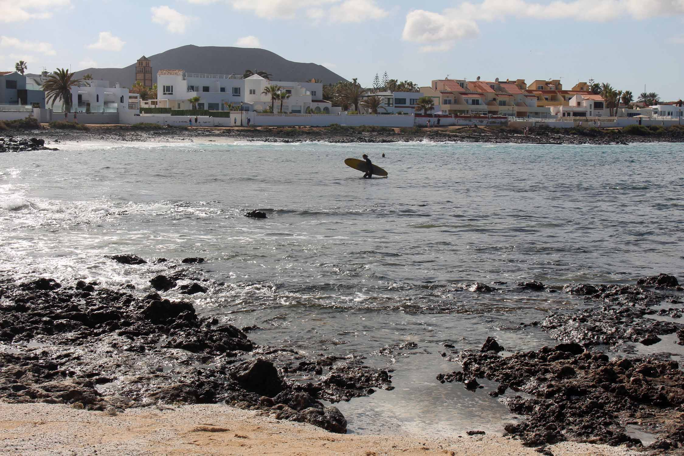 Fuerteventura, city of Corralejo