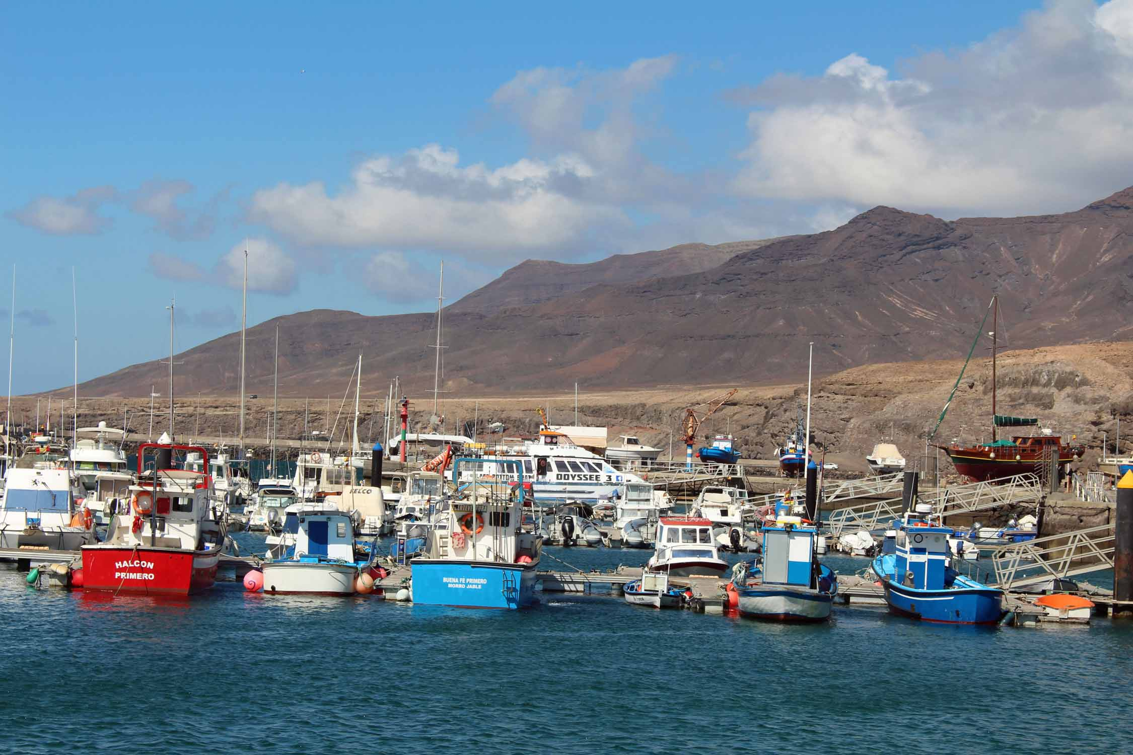 Fuerteventura, port de Morro Jable