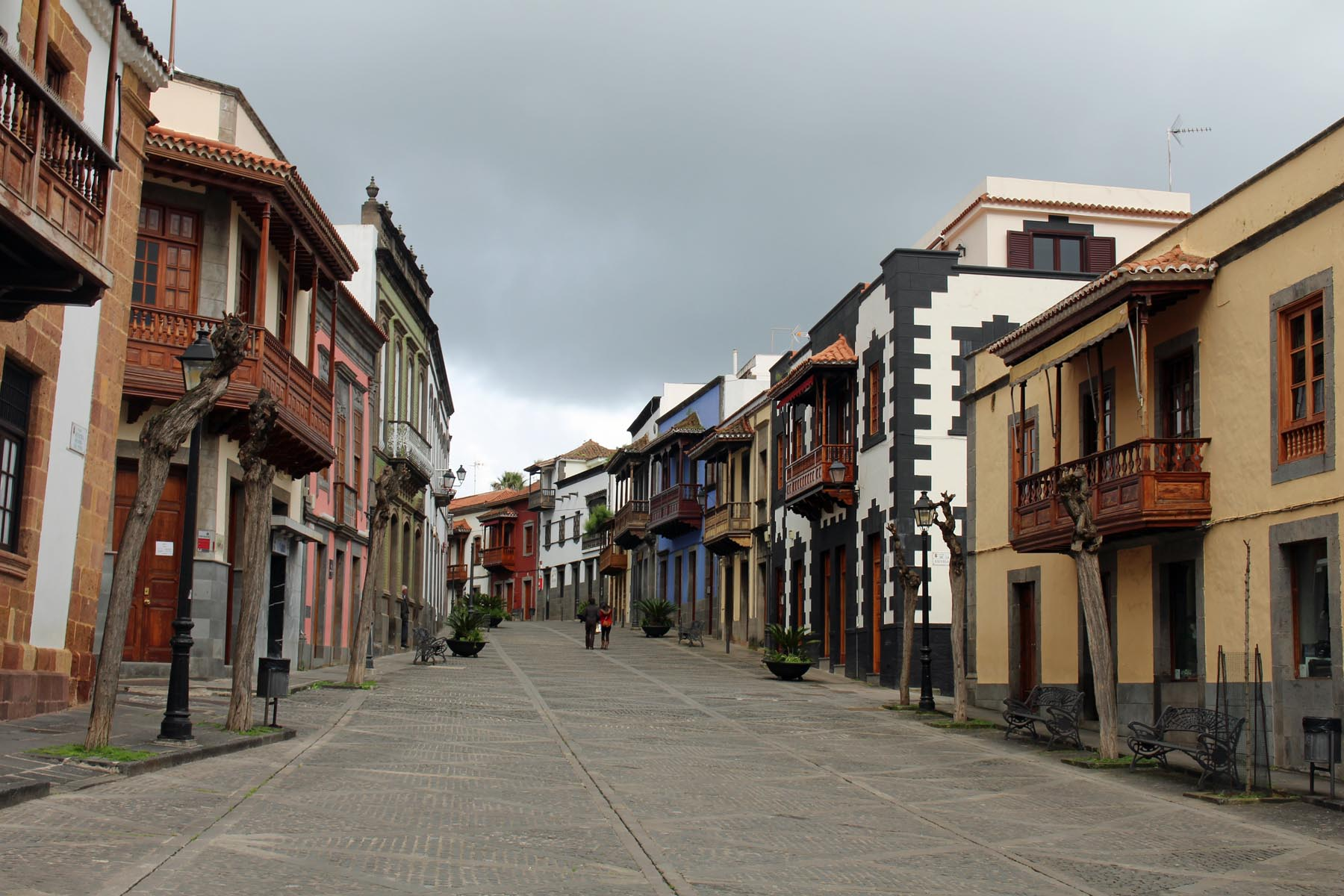 Teror, calle Real