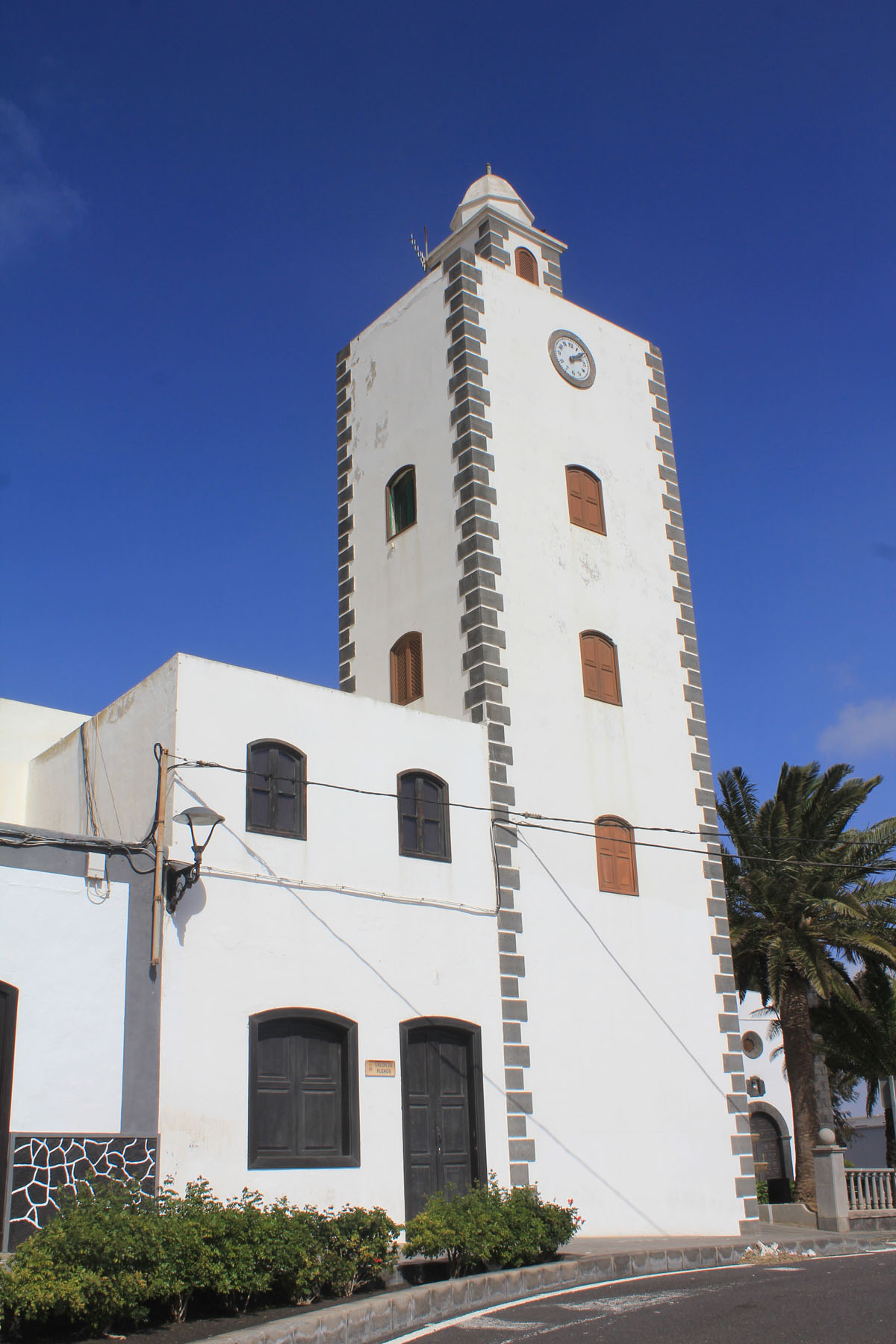 Lanzarote, San Bartolome, church