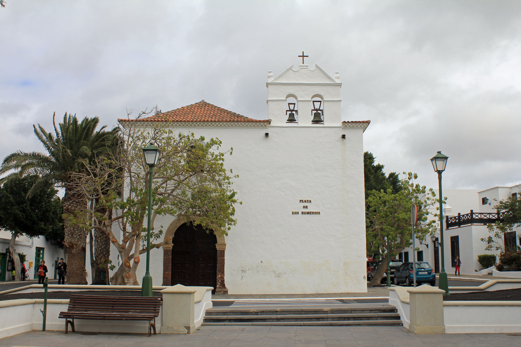 Yaiza, church