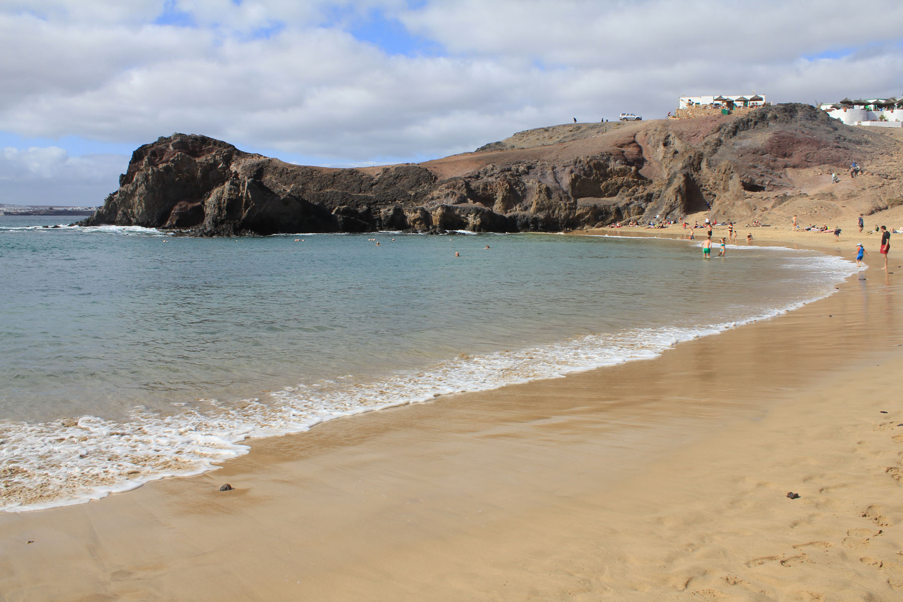Canary Islands, playa de Papagayo