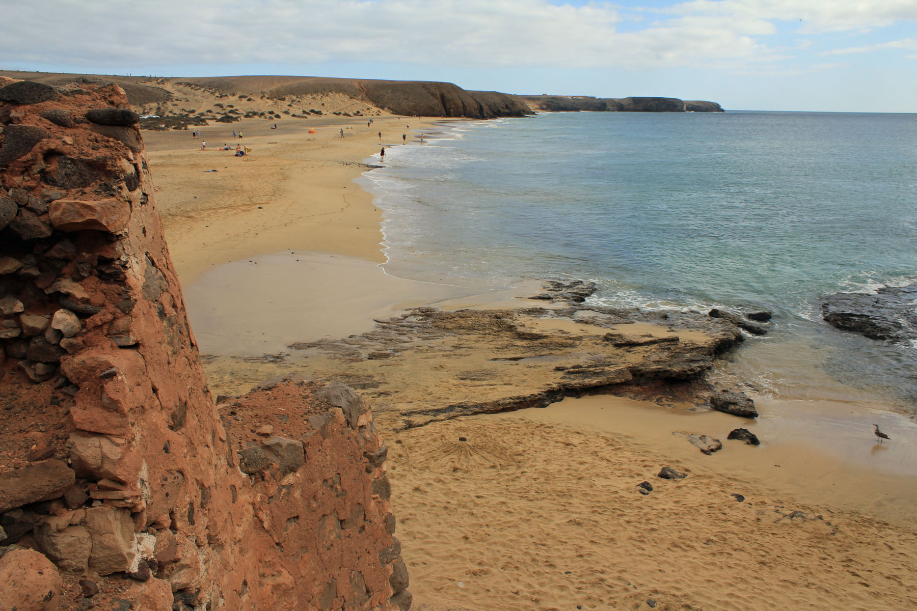Canary Islands, Lanzarote, Playa de Mujeres