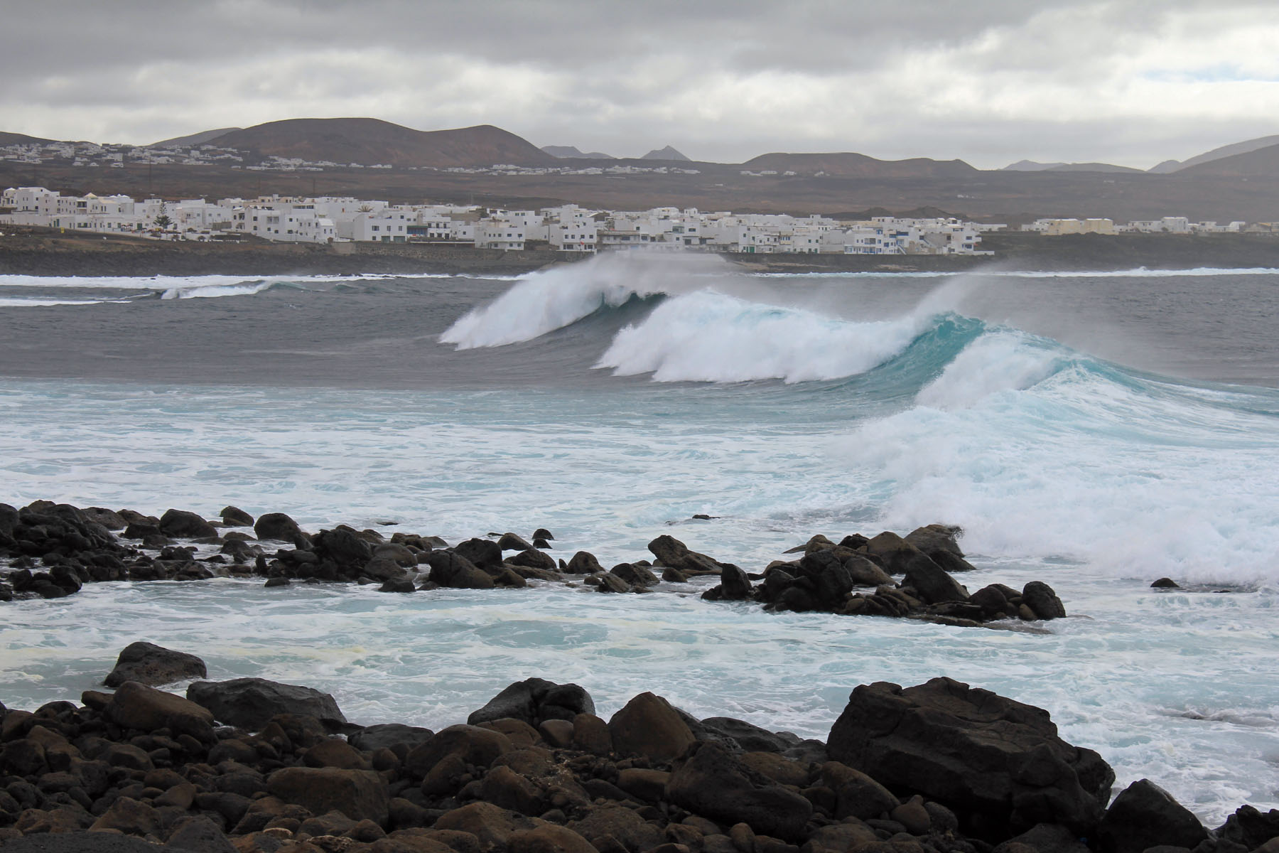 Lanzarote, la Isleta, vague, surf