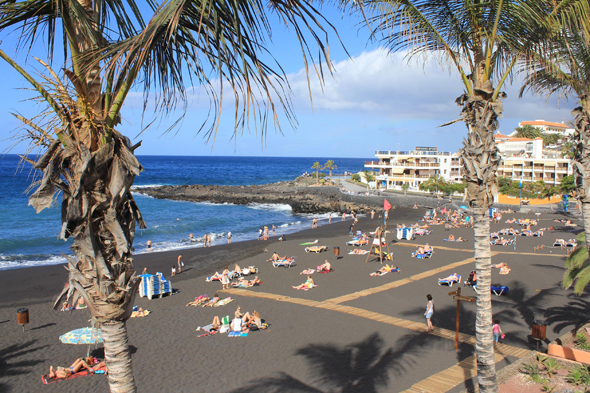 Puerto de Santiago, Tenerife, Canary Islands