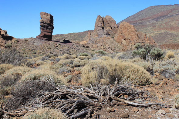Los Roques, Teide, Canary Islands