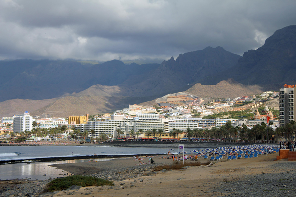 Playa de las Americas, view