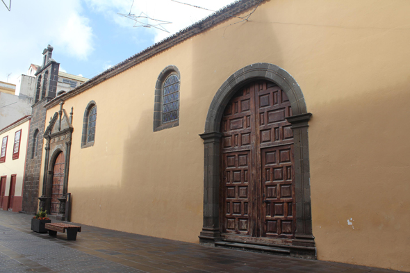 Tenerife, La Laguna, iglesia Dolores, Canary Islands