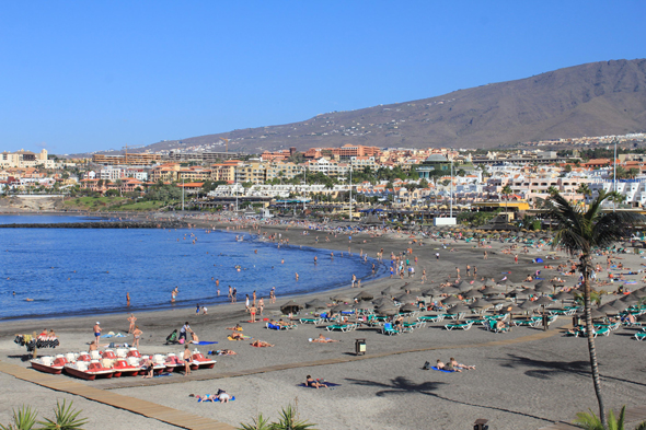 Tenerife, Playa de Fañabe, Canary Islands